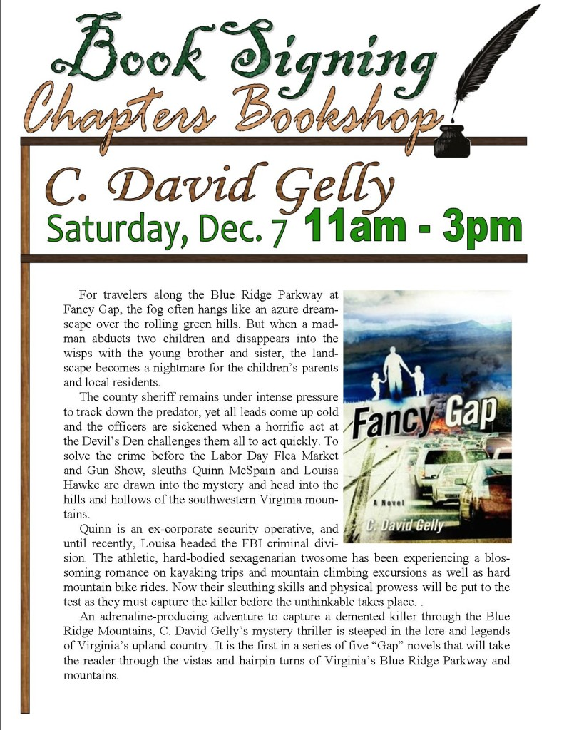 Book Signing David Gelly